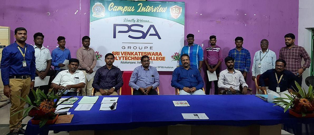 Employment Camp at Venkateswara Polytechnic