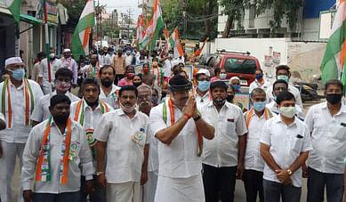 Gandhian People's Pilgrimage to the Congress Chapel