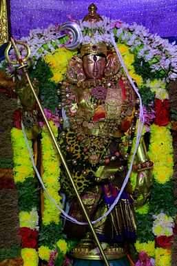 Manamadurai Anandavalli Awakening in the attire of Goddess Attanariswara