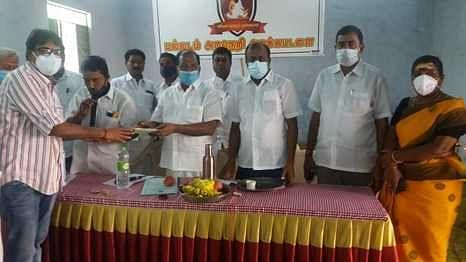 Decision to hold a school on November 27 at Palladam Mahaliamman Temple