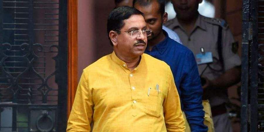 Union minister Pralhad Joshi tests COVID positive