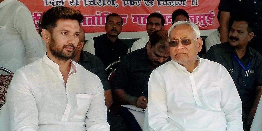 BJP can decide to remove Chirag from alliance: Nitish Kumar