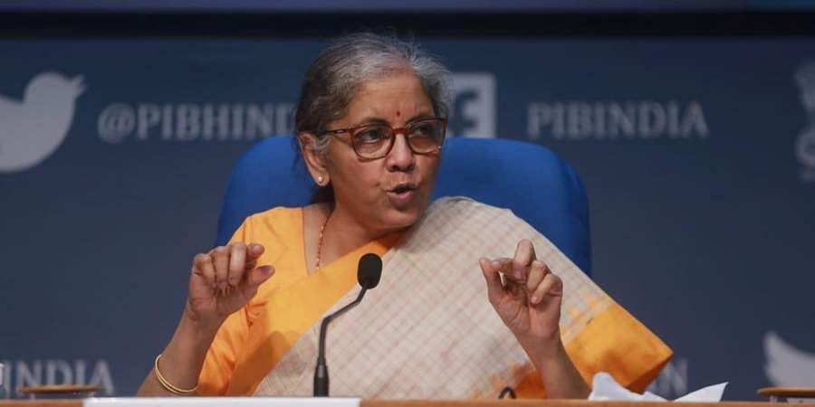 Rs 2.65 lakh crore special economic projects: Finance Minister Nirmala Sitharaman