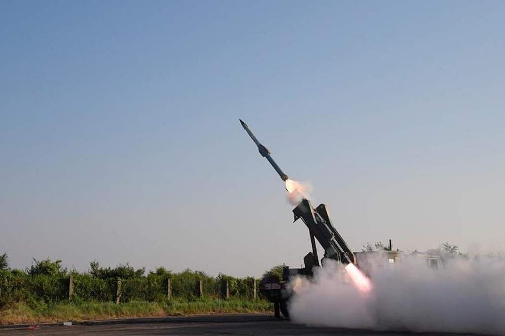 Success of modern missile test