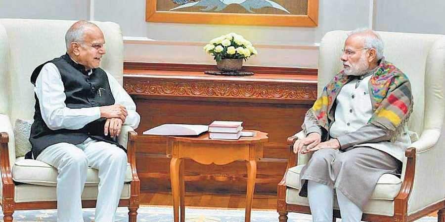 governor-of-tamil-nadu-meets-prime-minister-modi