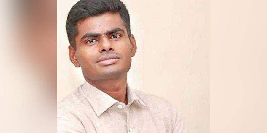 Annamalai IPS joins BJP