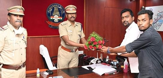 Rs. 61,000 handed over to police: S.P. Praise