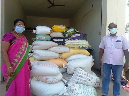 57 ration rice bundles confiscated