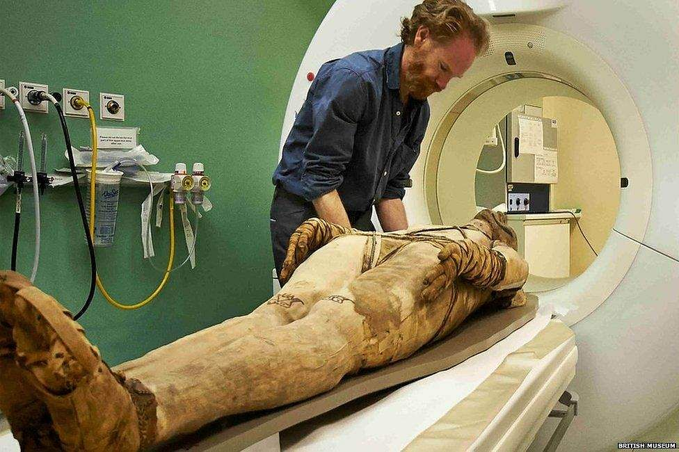New inventions about egypt mummies