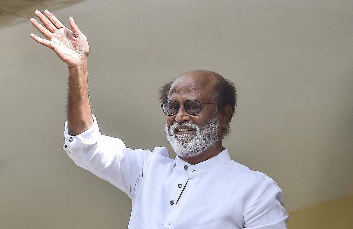 New party launches in January: Rajini announces