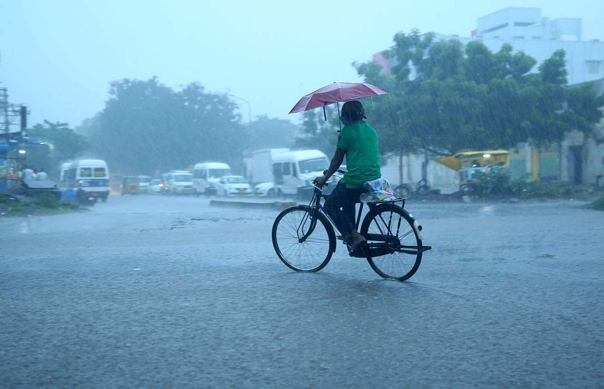 Depression: Chance of moderate rain in most places
