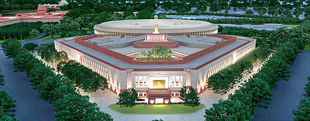 New Parliament Building: Prime Minister Modi lays the foundation stone on Dec. 10