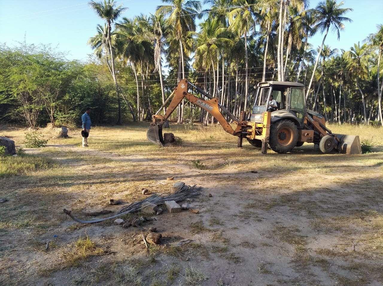 keezhadi - 6th level excavation works