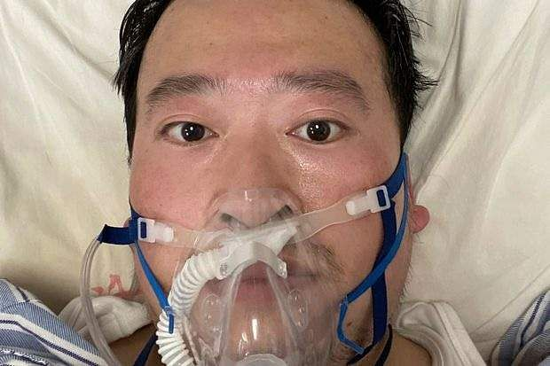 china government apologies to doctor