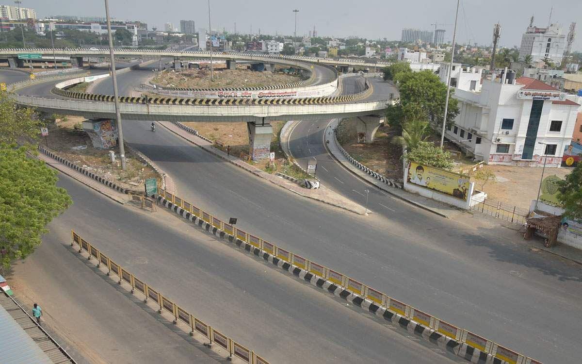 சென்னையில் ஊரடங்கு நிலவரத்தை ...