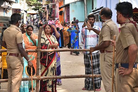 FIR files if Isolation Goes Out: Commissioner of chennai Corporation