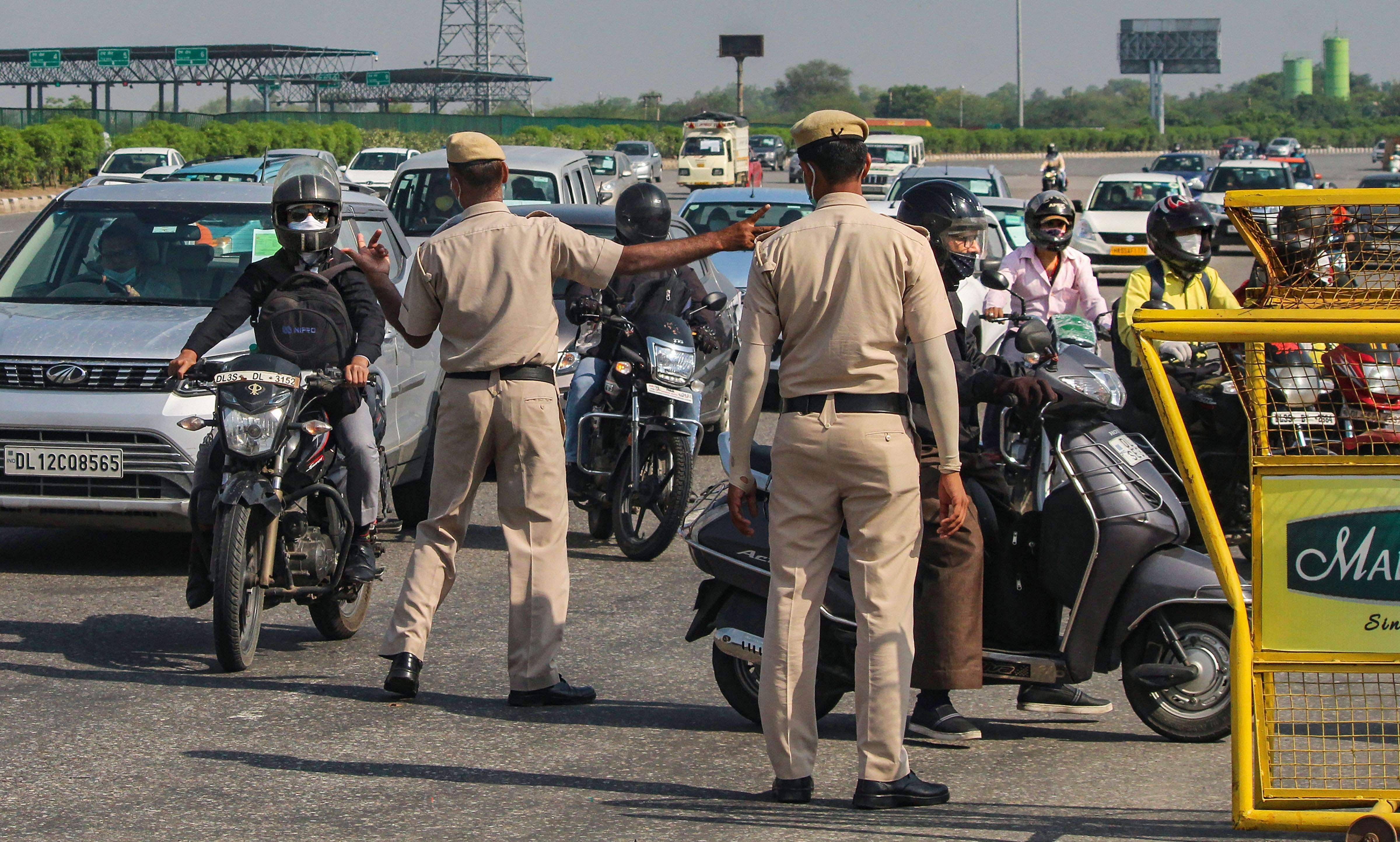 Police action in chennai