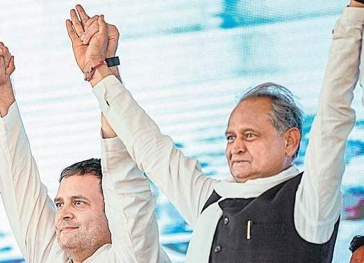 Rahul should become party chief again, Gehlot demands in CWC meeting