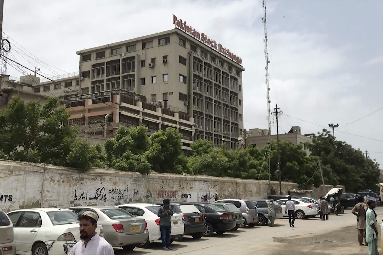 4 militants, 5 security personnel killed in terror attack in Pakistan's Karachi.