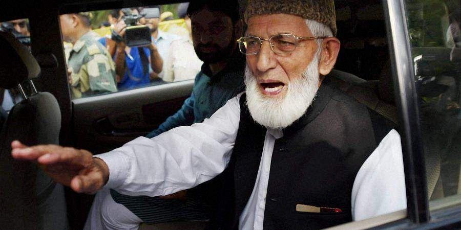 Kashmiri separatist leader Syed Ali Geelani resigns from Hurriyat Conference