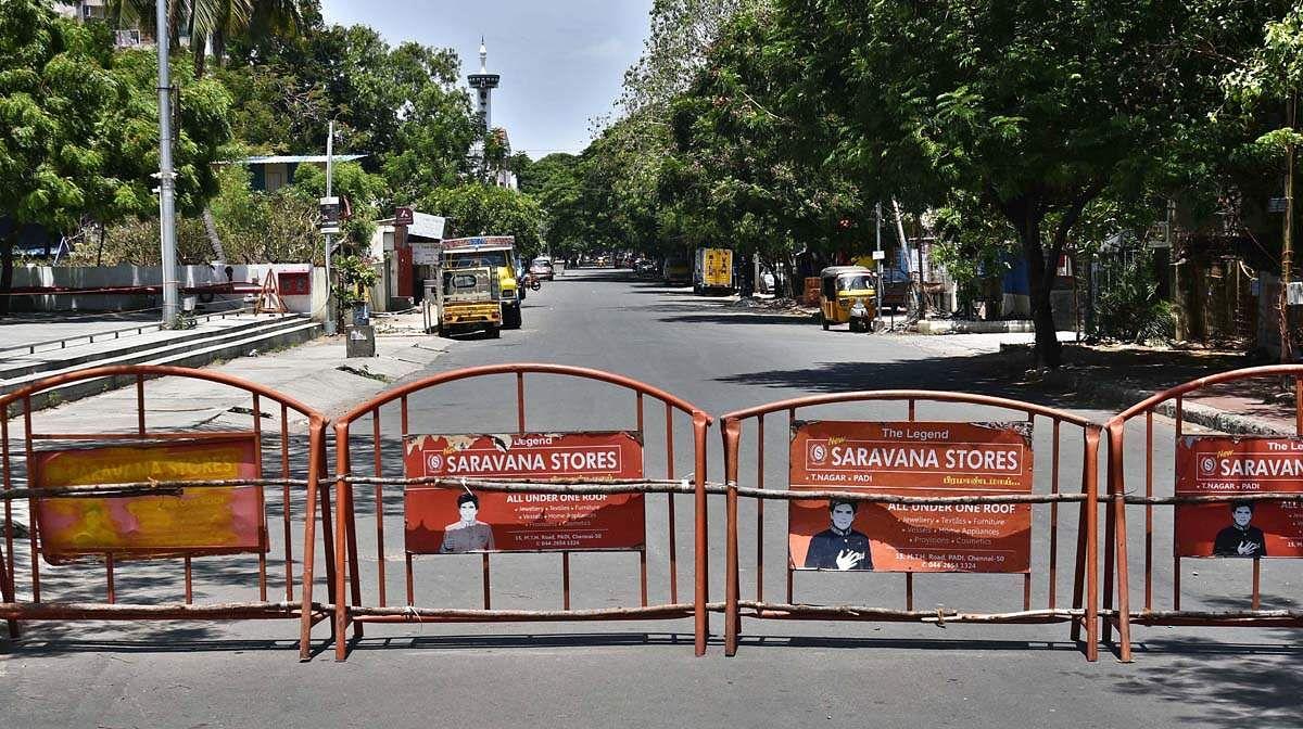 Restrictions on full curfew in Tamil Nadu