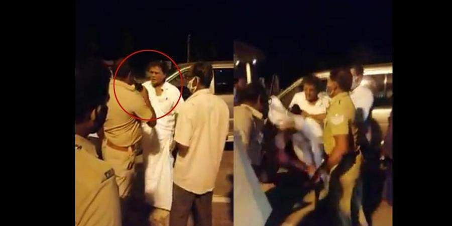 Former TN MP assaults cop at toll plaza, gets slapped in return in viral video