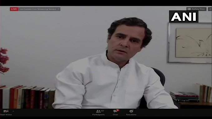 India will cross 10 lakh-mark of COVID-19 cases this week: Rahul Gandhi