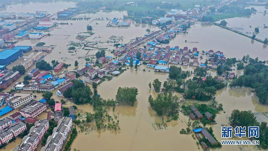 China: Floods in Anhui province
