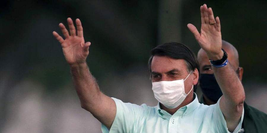 Jair Bolsonaro tests COVID-19 positive for third time as Brazil's tally crosses 2.2 million