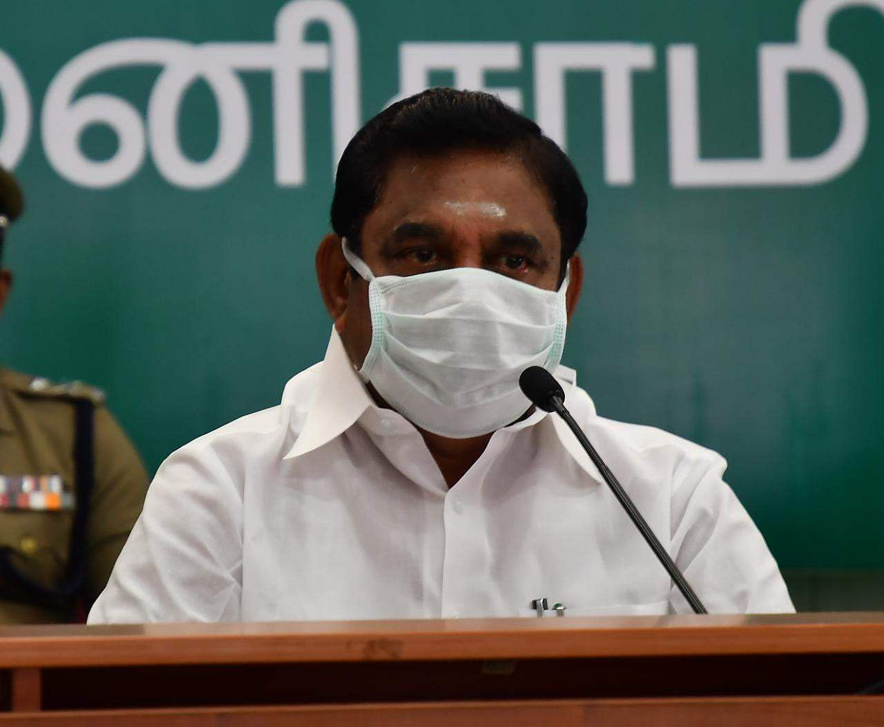 Chief Minister Palanisamy directs to provide free rations for July