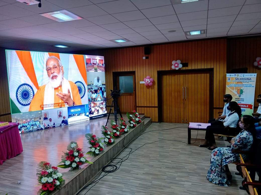 PM Modi interacts with students in Smart India Hackathon 2020