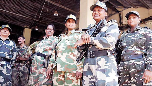 womens force deployed in kashmir