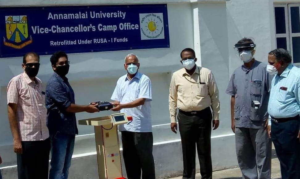 Young man donates new robotic device to Annamalai University Hospital