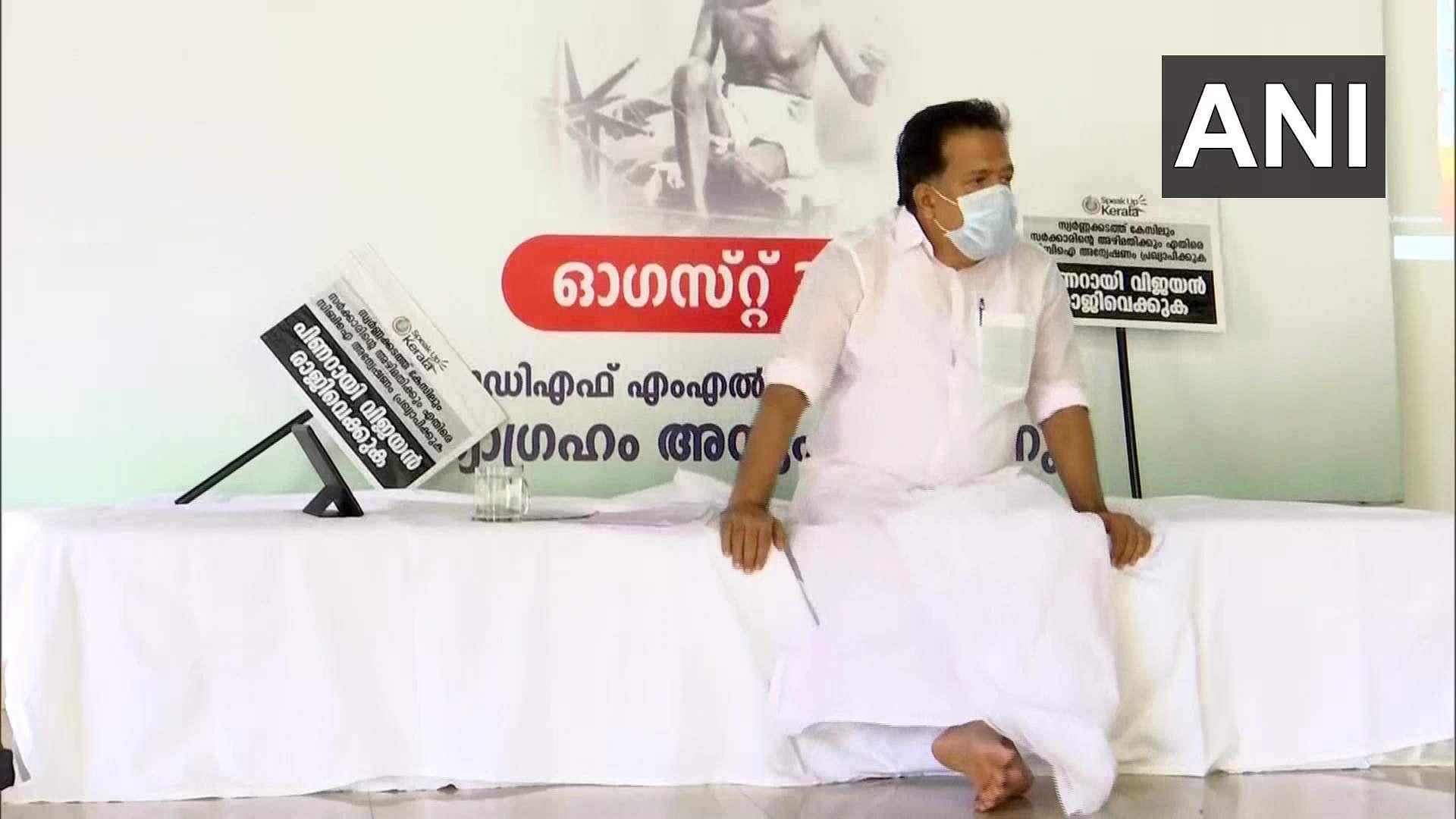 Ramesh Chennithala observes one-day Satyagraha