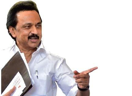 DMK can do nothing with bouquets: Stalin