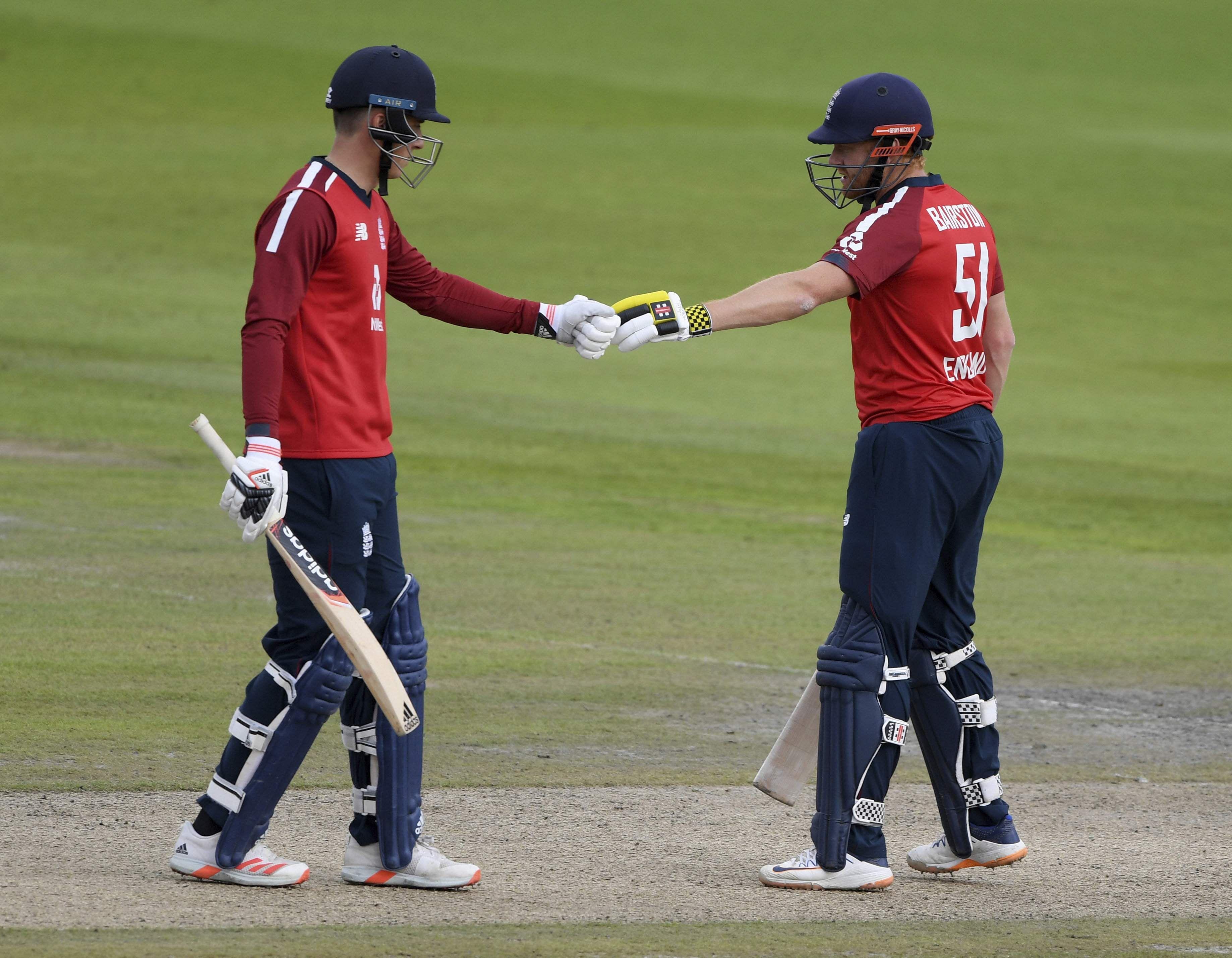 Morgan, Malan Fifty: England won 2nd T20