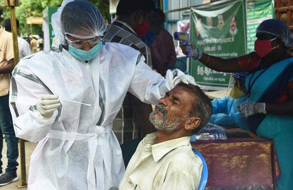 5,956 new positive cases reported in Tamil Nadu