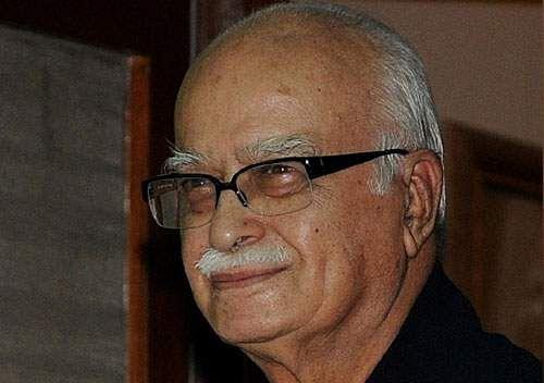Advani on ram temple boomi pooja