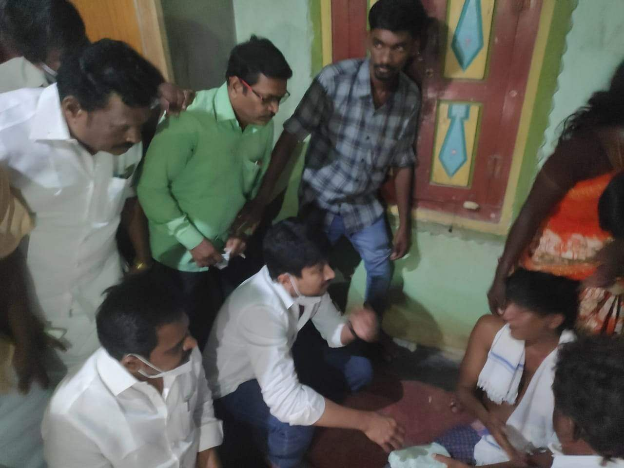 Need Suicide: Pamaka protests against Udayanidhi to pay tribute: Rs. 5 lakh financial assistance