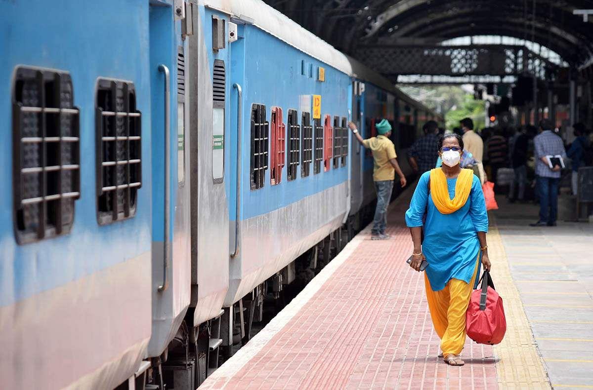 Bangalore Railway platform fare increased to Rs.50