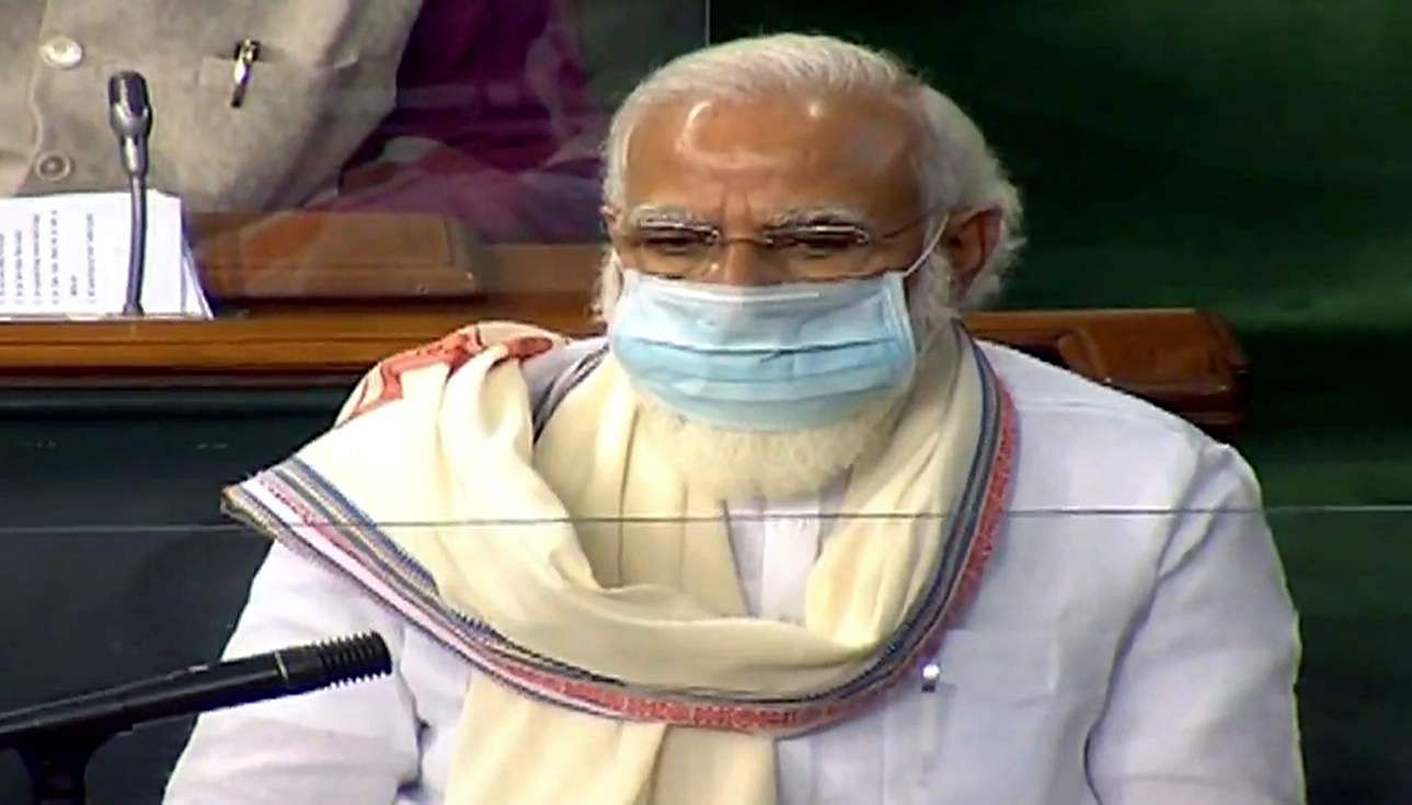 PM Modi says Parliament stands with Armed Forces