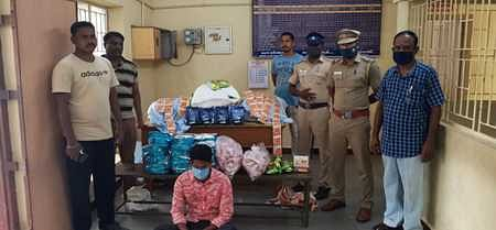 75 kg of drugs seized in Tindivanam: Youth arrested