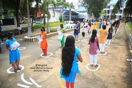In 6 neet centers in Kumari district
