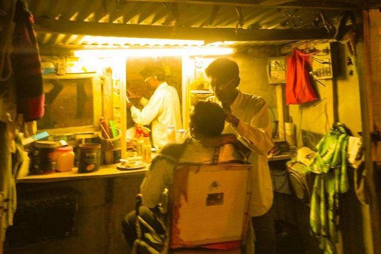 Saloon shop run by the Government of Kerala near Idukki