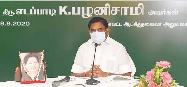 Construction work on koyambedu flyover to be completed in December: Chief Minister Palanisamy