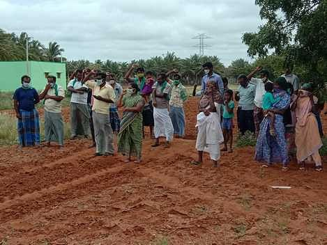 Farmers protest demanding repeal of agricultural laws