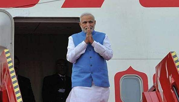 Modi's foreign trip: Rs 517 crore in 5 years