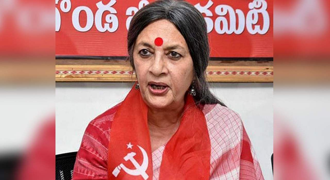 The police did not file a charge sheet, cheating: Brinda Karat