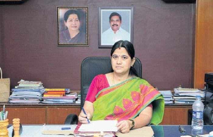 Chennai Collector Seethalakshmi recovered