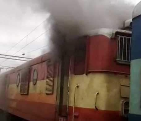 Fire in Nagercoil - Chennai special train: major damage avoided